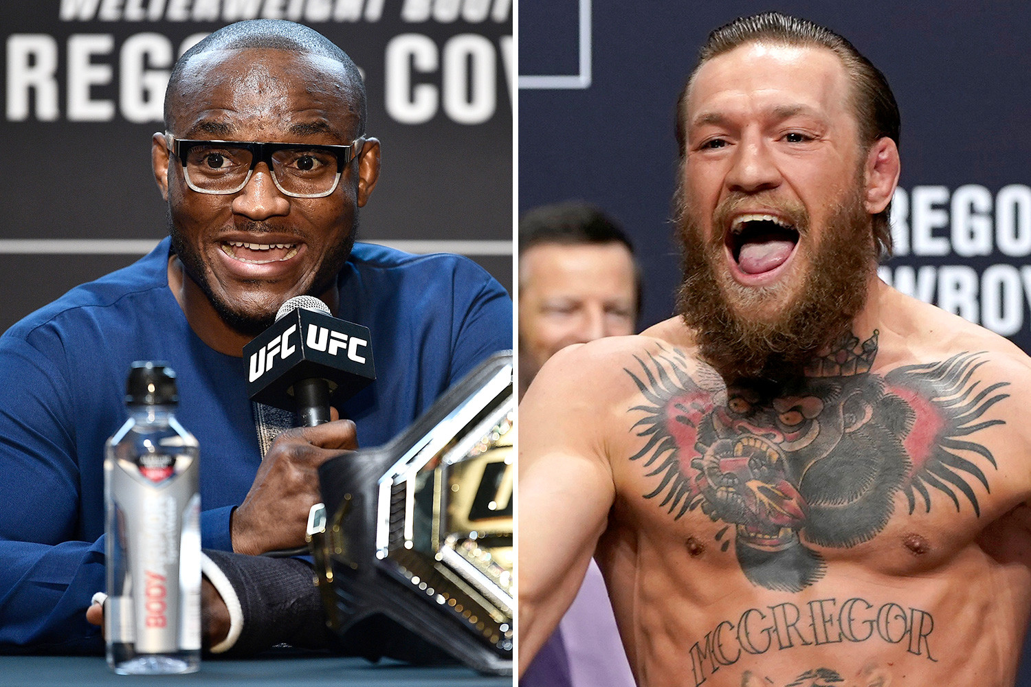 UFC News: Kamaru Usman mocked McGregor's promise to become the welterweight champion