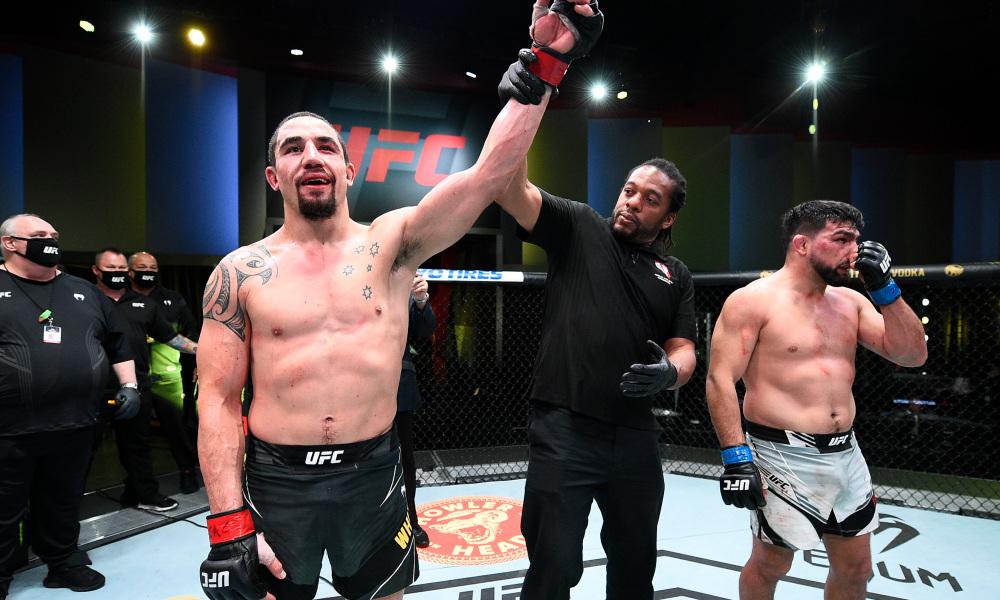 UFC Vegas 24 - Medical Suspensions.