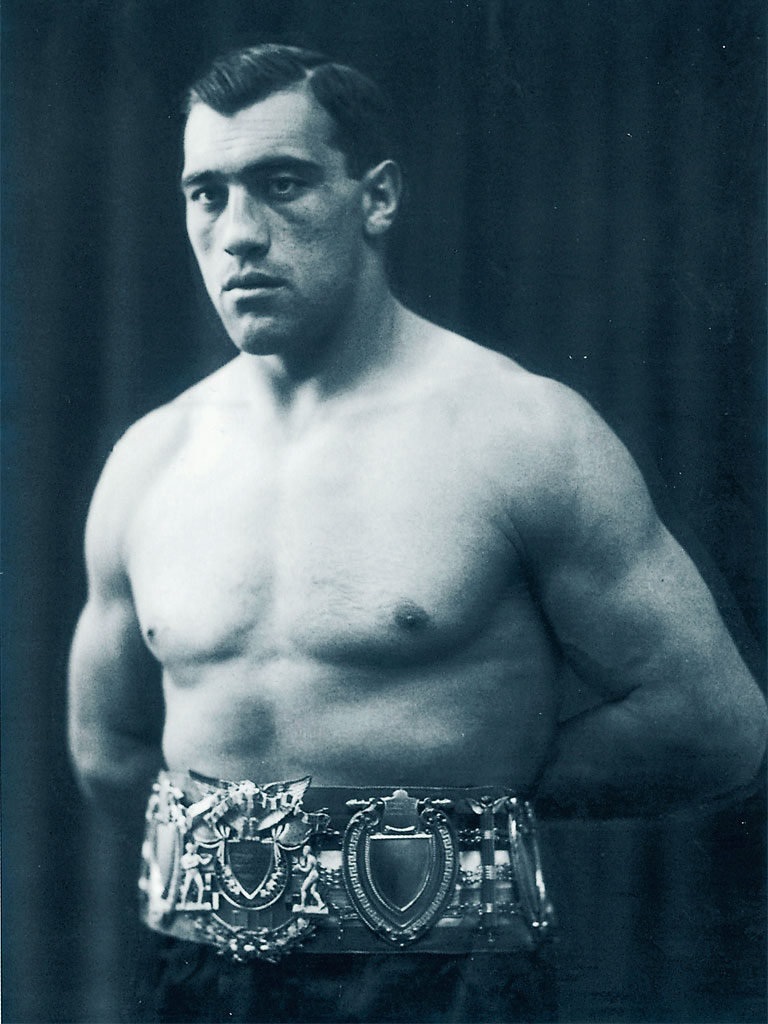 Primo-Carnera-wearing-his-EBU-Heavyweight-Title-Belt.-1_