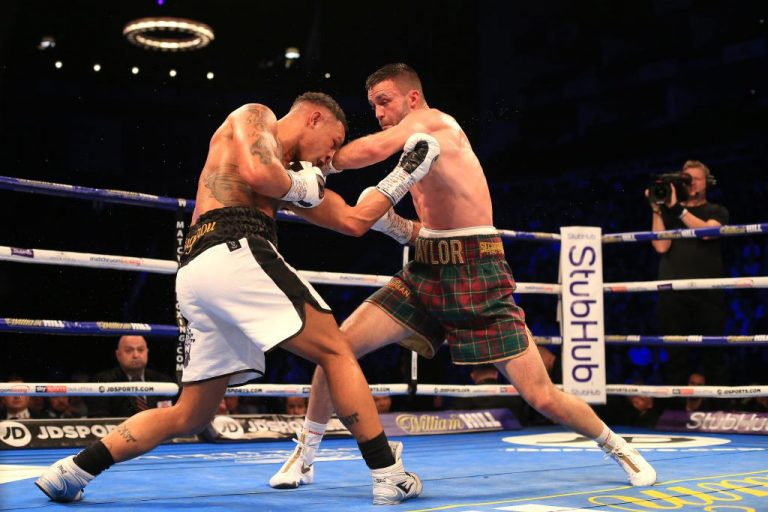 Josh-Taylor-Regis-Prograis-action_Photo-by-Stephen-Pond_Getty-Images-768x512