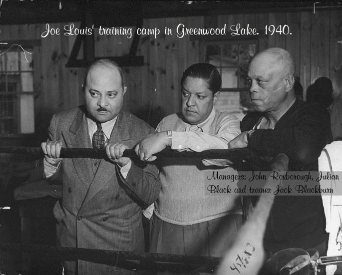 Louis_Manager_Julian_Black_(C)_and_trainer_Jack_Blackburn_(R)_standing_with_John_Roxborough1